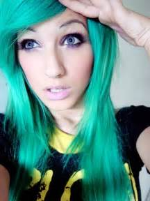 color hair green picture 7