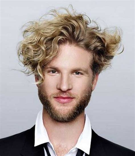 man with blonde curly hair picture 14