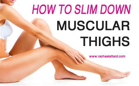 How to slim down bulky muscle picture 1