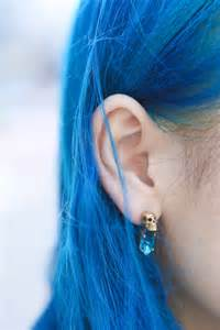 Blue hair picture 7