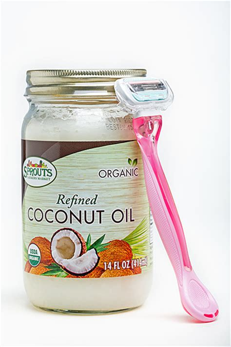 coconut oil and shaving genitals picture 13