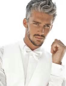 men's short grey hair picture 6