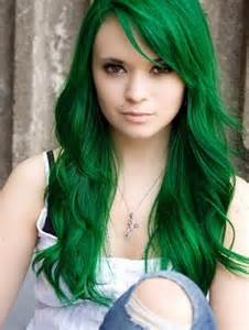 green hair dye picture 5