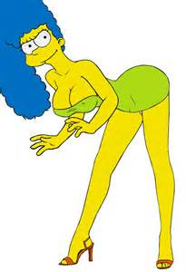 marge simpson breast growth picture 1