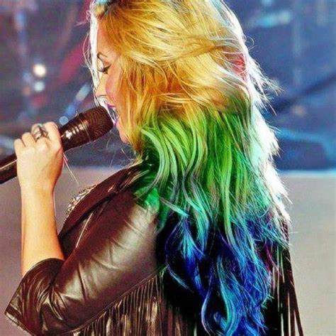 colored hair styles picture 15