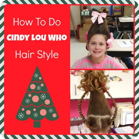cindy lou who hair how to do picture 3