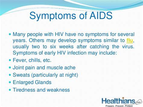 h hurt hiv symptoms picture 10