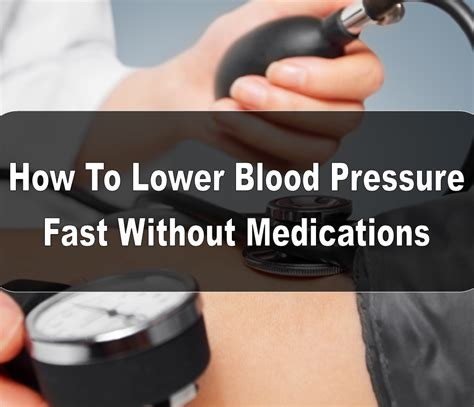 How quick fast does blood pressure medication lower picture 1
