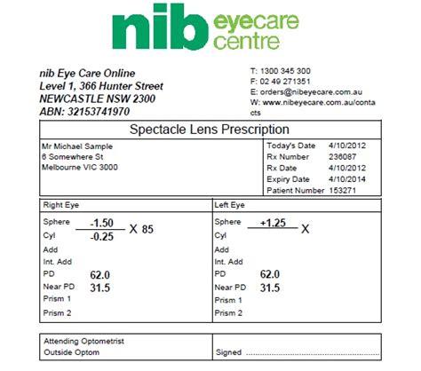 contact prescription picture 2