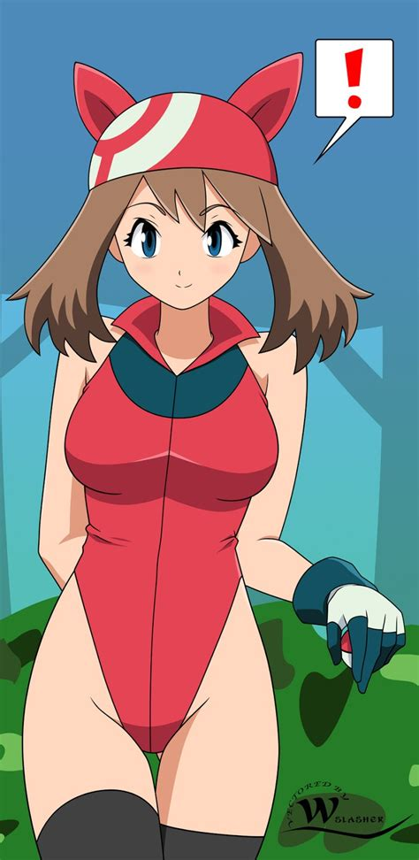 pokemon may's large breast picture 7