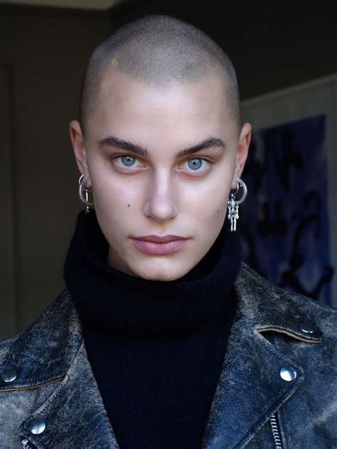 fulker shaved head women picture 5
