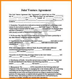 joint venture agreements picture 6