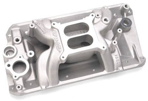 carb spacers on dual plane intakes picture 7