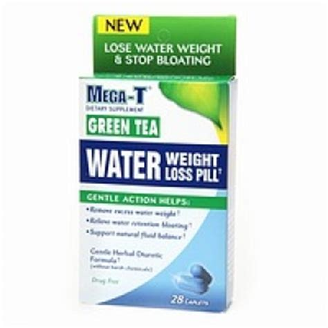 3 of mega-t green tea water pill -- picture 2