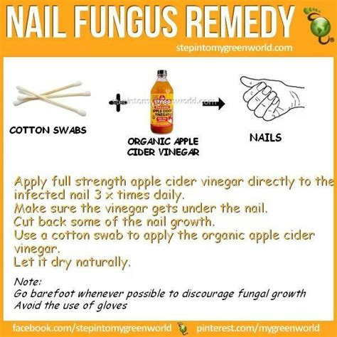 which is better for nail fungus white vinegar or apple cider picture 7