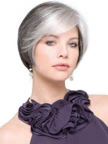 best hairstyles for grey hair picture 2