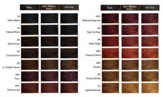 clariol hair color chart picture 3