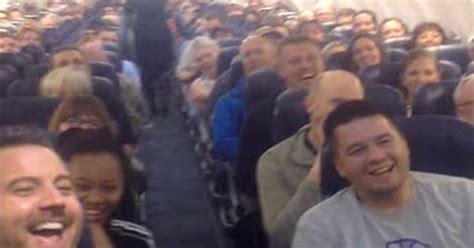 flight attendants taking gordonii picture 5