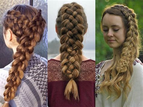 5 stranded braid hair picture 11