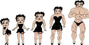 female muscle fiction picture 13