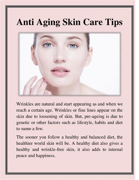 ageing skin care tips picture 3