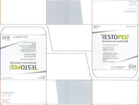 testosterone pellets ndc picture 2