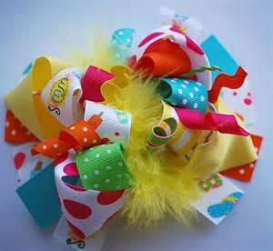 summer fun hair bows picture 2