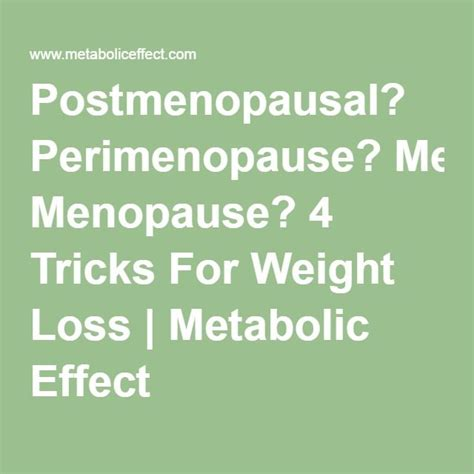 weight loss and menopause picture 13