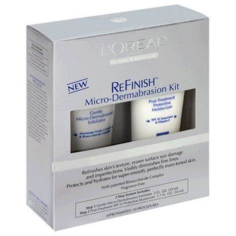 kit micro dermabrasion refinish dermo expertise lor al picture 1