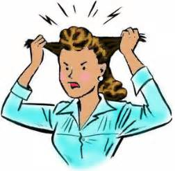 clip art of woman pull out her hair picture 4