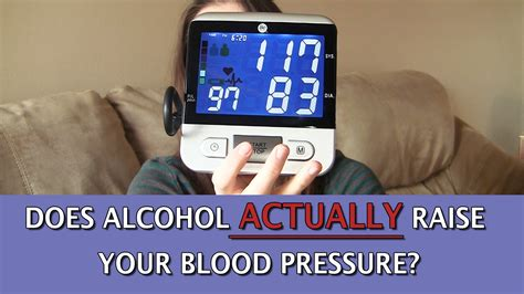 does alcohol raise your blood pressure picture 1