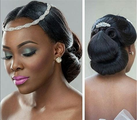 bridal hairstyles for black hair picture 11