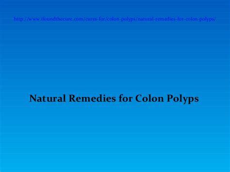 colon polyps naturopathic medicine picture 6