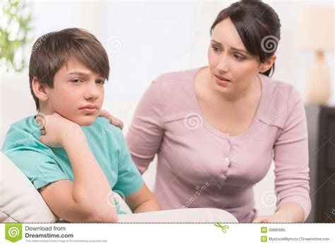 japanese mom and son frustration picture 2