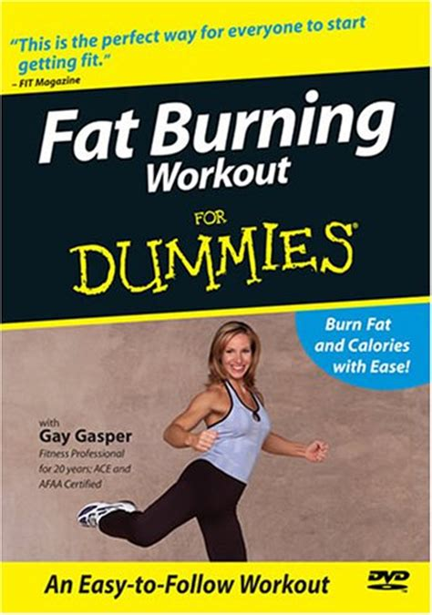 fat burning workout for dummies picture 1