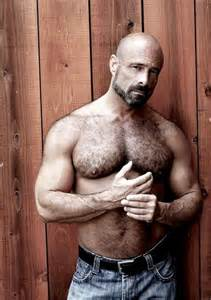 hairy muscle beard mens picture 6