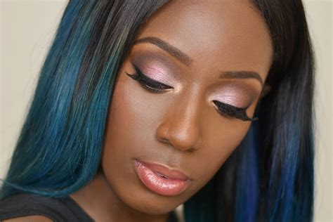 prom makeup for dark skin picture 1