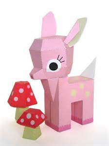 paper craft h 3d picture 1