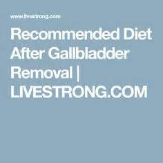 recommended diet after gallbladder removal and history of picture 2