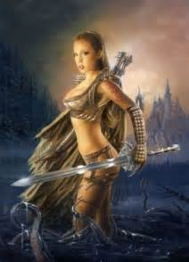 female muscle art & fantasy picture 11