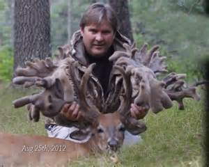 world record world's biggest deer rack picture 14