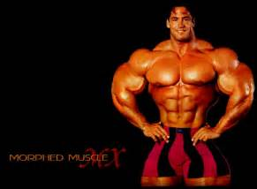 male pecs morphed picture 2