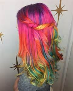 wild colored hair picture 5