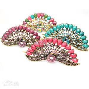 cheap wholesale crystal hair clips picture 3