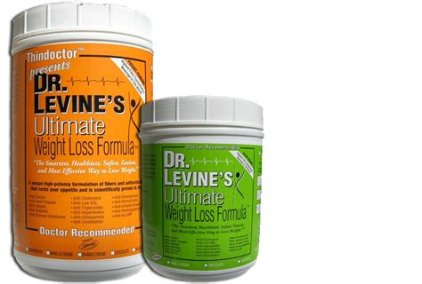 dr. levine's ultimate weight loss formula picture 1