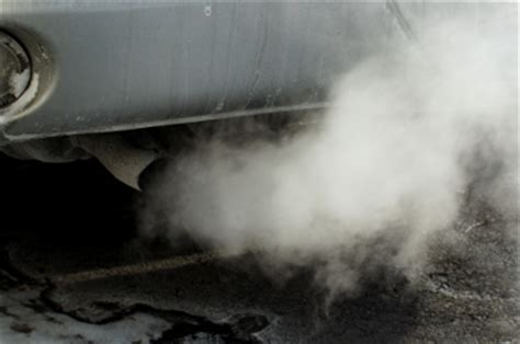 white smoke from tailpipe picture 17