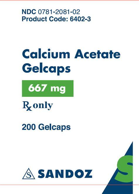calcium acetate picture 3
