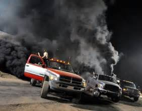 dodge trucks spraying black smoke picture 11