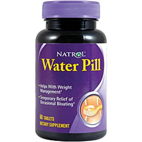 how are water pills effective in permanent weight loss picture 8