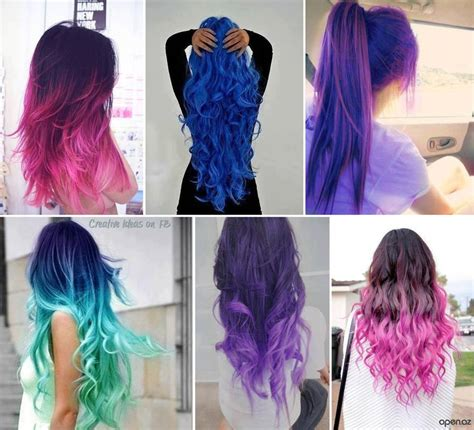 colored hair styles picture 2
